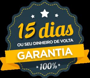 Curso com 15 dias de garantia